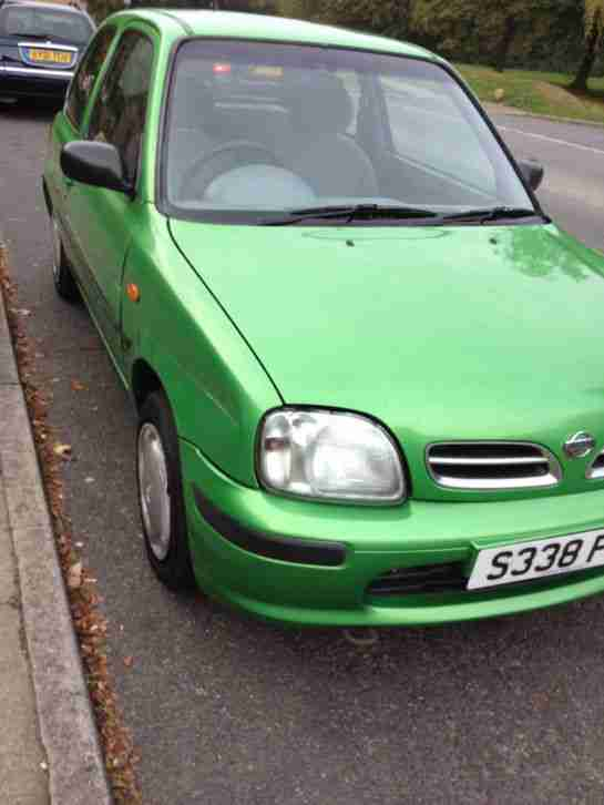 1999 MICRA EQUATION GREEN