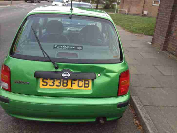 1999 NISSAN MICRA EQUATION GREEN