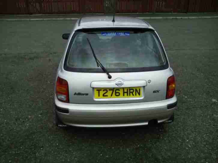 1999 NISSAN MICRA GX SILVER - MOT JULY - VERY GOOD CONDITION - 32K MILES
