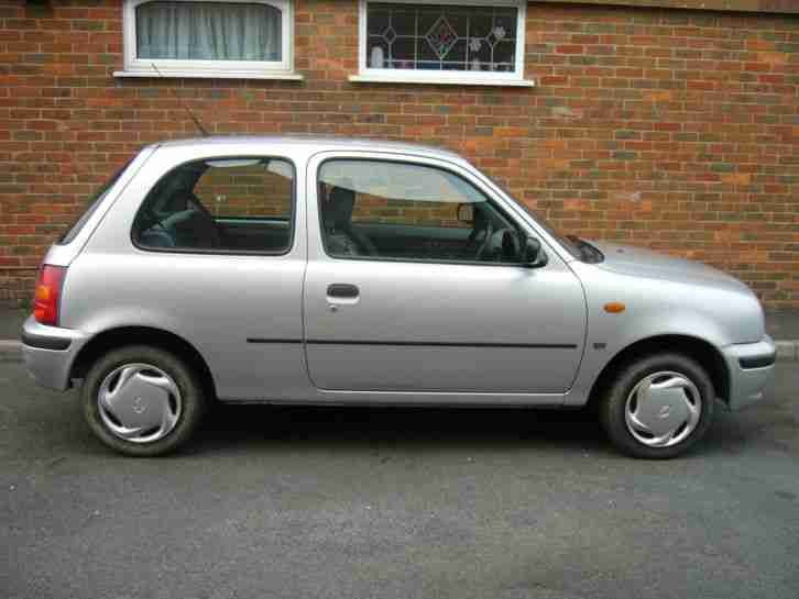 1999 NISSAN MICRA PROFILE 16V AUTO SILVER TAXED AND MOT TIL 2015