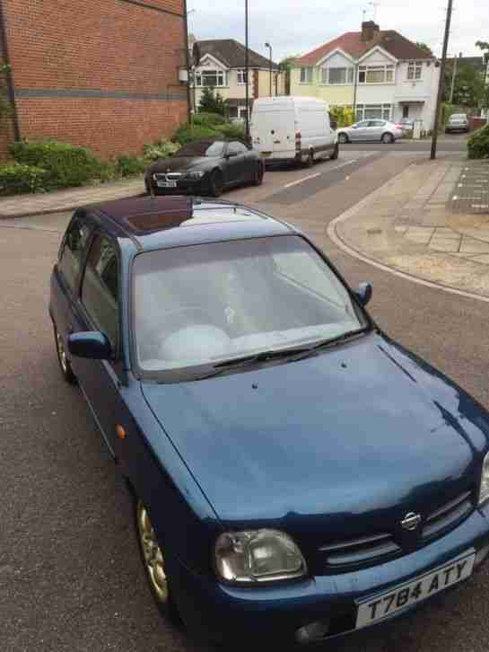Nissan 1999 MICRA SI BLUE AIRCON A C SUNROOF CUSTOMISED ...