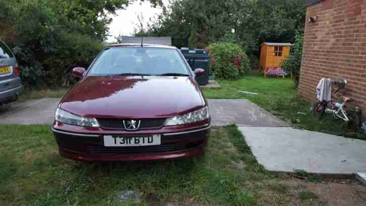 Peugeot 406. Peugeot car from United Kingdom