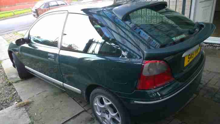 1999 ROVER 200 SE 3DR 98MY spares or repairs NO RESERVE