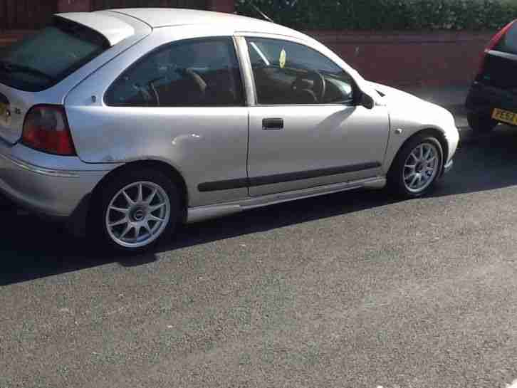 1999 ROVER 214I SE SILVER good runner cheap car with plenty of life left