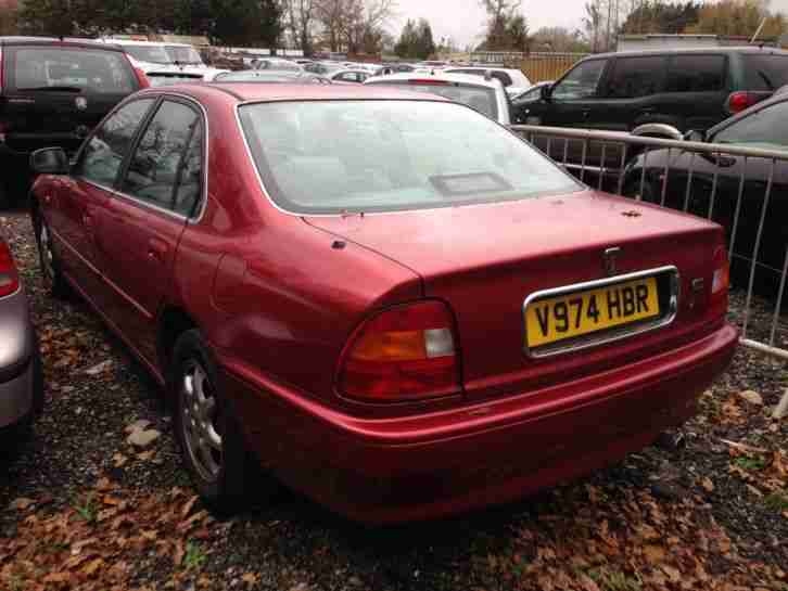 1999 ROVER 618I L RED HONDA ENGINE SPARES OR REPAIRS