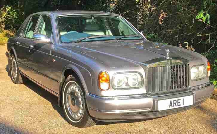 1999 Rolls Royce Silver Seraph RR history from new