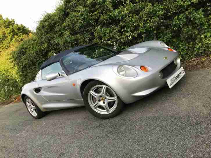 1999 S1 LOTUS ELISE NEW ALUMINIUM RECENT C SERVICED STUNNING