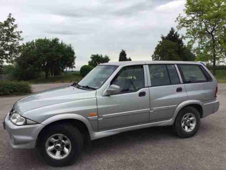 1999 SSANGYONG MUSSO TD AUTO SILVER