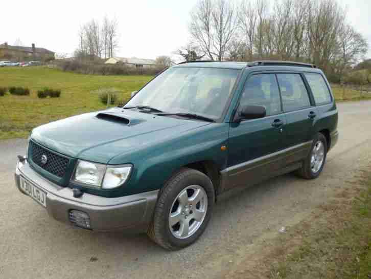 subaru 1999 forester s turbo awd manual mot jan 2017 uk car car for sale. Black Bedroom Furniture Sets. Home Design Ideas