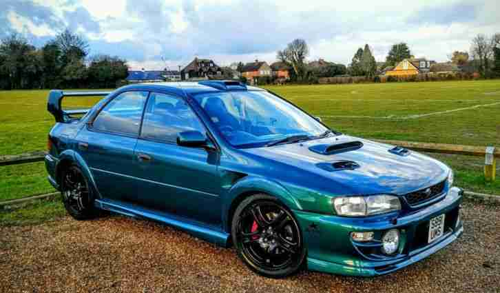 Subaru 1999 Impreza Turbo 2000 Awd Green Wide Arch Kit
