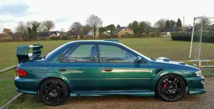 Subaru 1999 Impreza Turbo 2000 Awd Green Wide Arch Kit