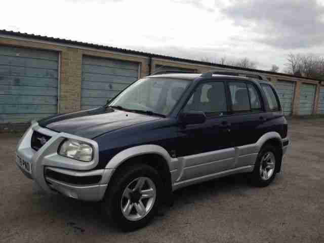 suzuki 1999 grand vitara v6 blue spares or repair car for. Black Bedroom Furniture Sets. Home Design Ideas