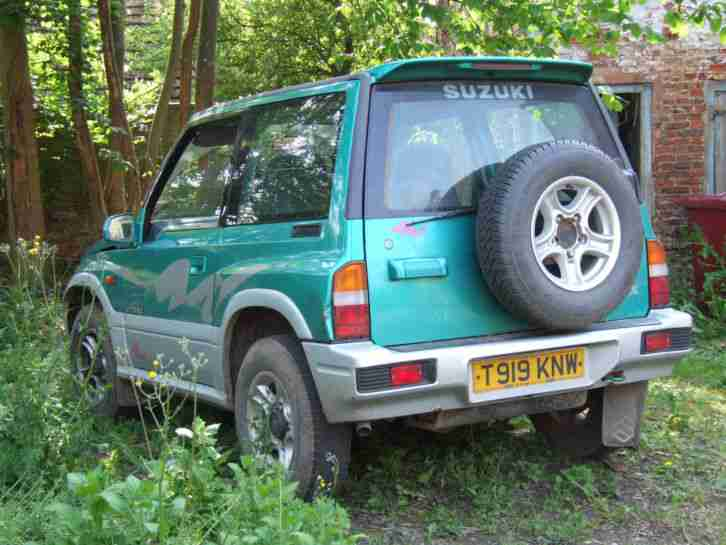 1999 VITARA JX 4 U HARD TOP GREEN