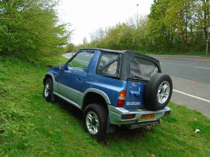 suzuki 1999 vitara jx 4 u soft top blue car for sale. Black Bedroom Furniture Sets. Home Design Ideas