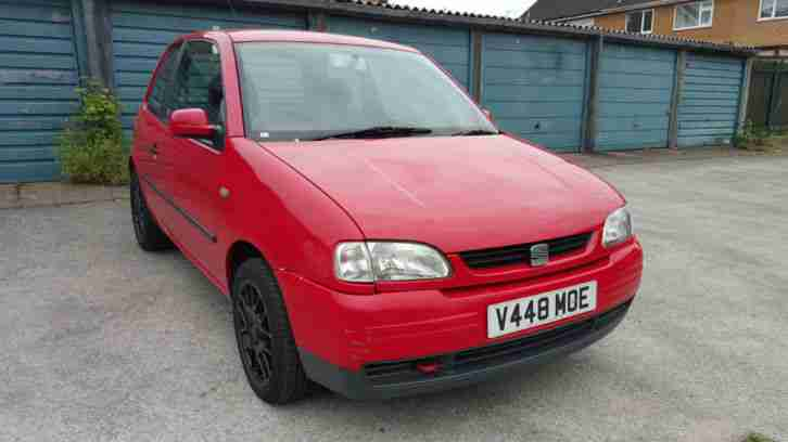 seat 1999 arosa 1 0 s long m o t cheap tax and insurance. Black Bedroom Furniture Sets. Home Design Ideas