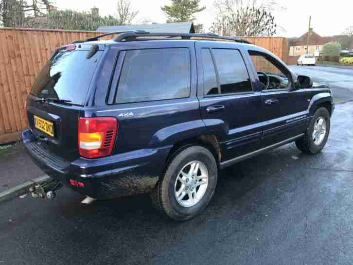 1999 V JEEP GRAND CHEROKEE LIMITED 4.0 4x4 4wd Tow Bar