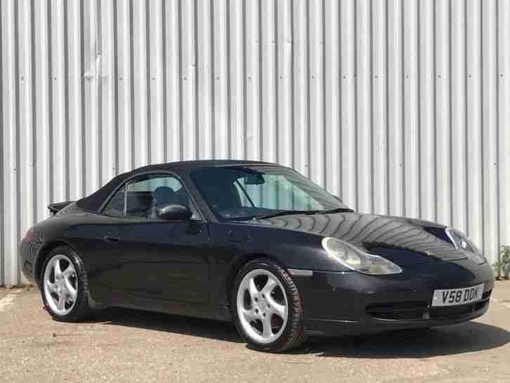 porsche 1999 v 911 3 4 996 carrera 2 cabriolet convertible 2dr black. Black Bedroom Furniture Sets. Home Design Ideas