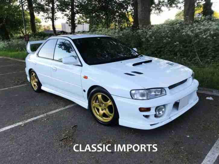 1999 V Reg Impreza STi V6 Version 6