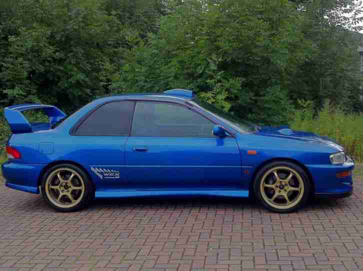 Used Subaru Wrx Sti >> Subaru 1999 V Impreza 2.0 WRX STi Type R Version 6 Limited ...