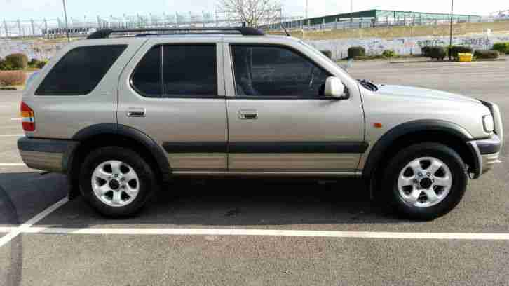 1999 VAUXHALL FRONTERA LIMITED V6 SILVER 3.2 LPG
