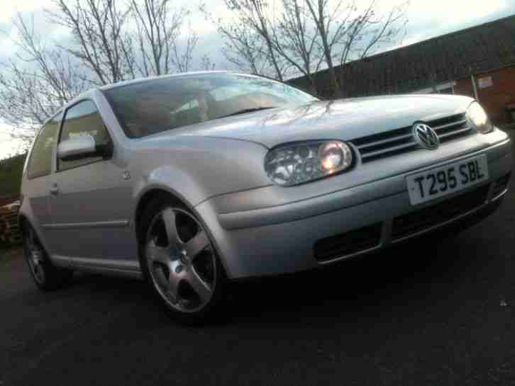 1999 VOLKSWAGEN GOLF GTI SILVER - spares or repair -