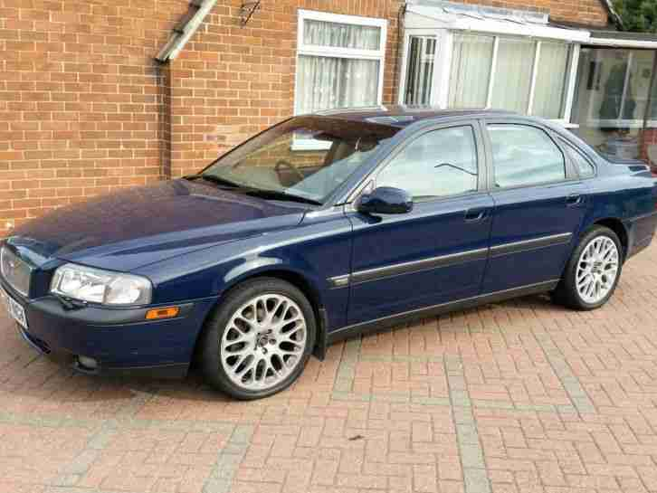 Volvo S80 T6 Se Auto Blue Only 1 Owner 2 8 Twin Turbo Absoloutly Stunning