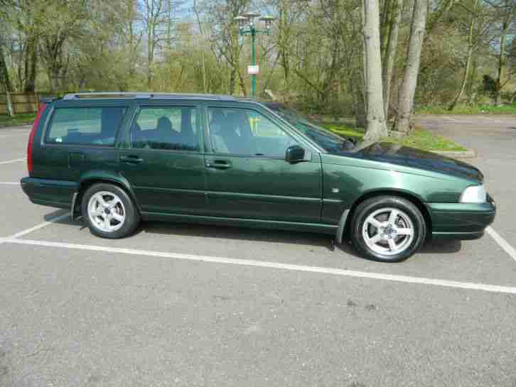 Volvo 1999 V70 2 5d Auto Green Car For Sale