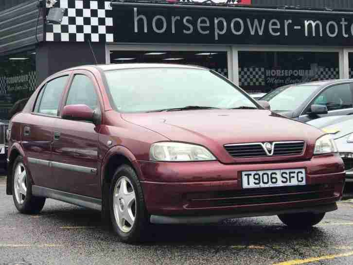 1999 vauxhall astra 1 6 i 16v cd 5dr petrol red manual car for sale rh bay2car com Old Vauxhall Astra Vauxhall Corsa