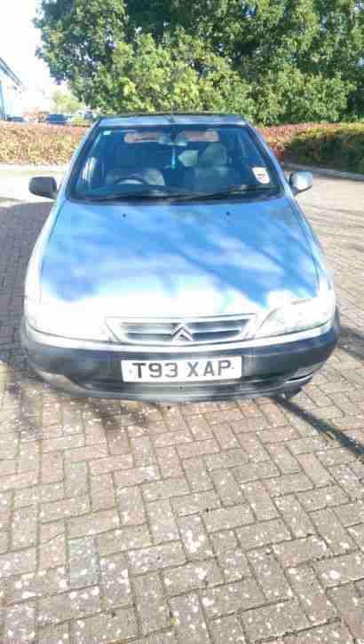 1999 citroen xsara lx hdi.TAX AND TESTED.