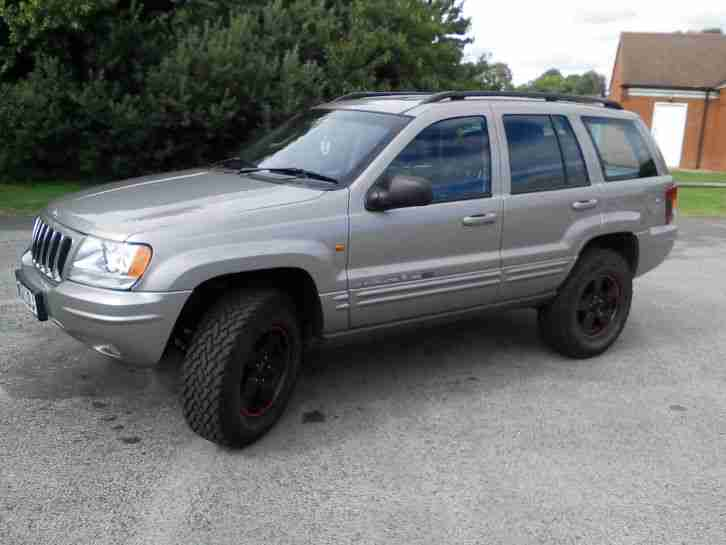 jeep 2 lifted 2002 grand cherokee 2 7 crd ltd au silver car for sale. Black Bedroom Furniture Sets. Home Design Ideas