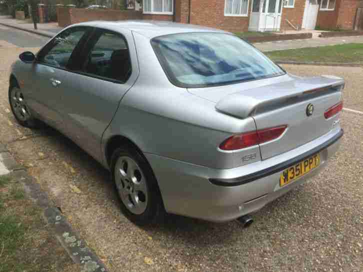 2000 ALFA ROMEO 156 - SEMI AUTOMATIC - GENUINE LOW MILES! 1 OWNER FROM NEW!
