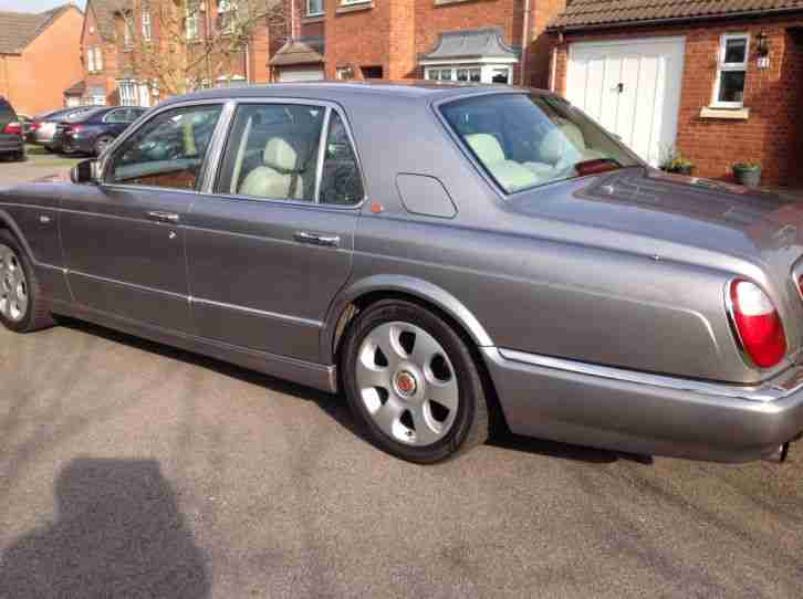2000 BENTLEY ARNAGE RED LABEL 6.8 AUTO TEMPEST SILVER