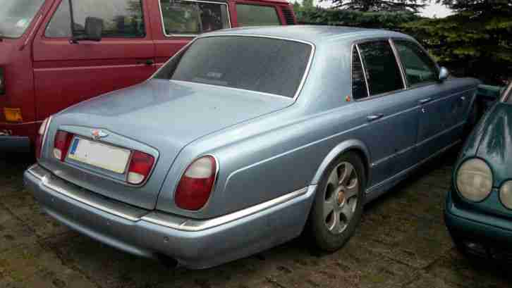 2000 BENTLEY ARNAGE RED LABEL AUTO BLUE LHD