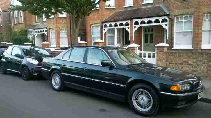 2000 BMW 728I AUTO GREEN ONLY 1 PREVIOUS OWNER SAT NAV / TV +Telephone