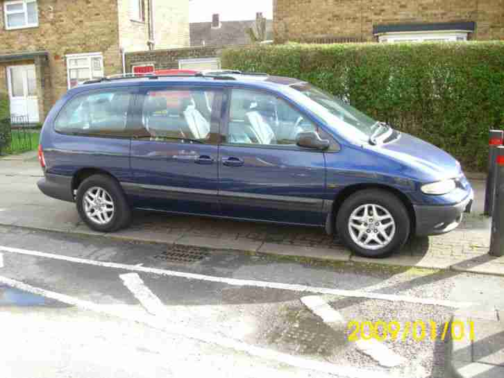 2000 CHRYSLER GRAND VOYAGER LE AUTO BLUE