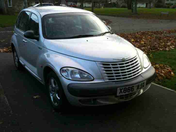 chrysler 2000 pt cruiser limited editio silver car for sale. Black Bedroom Furniture Sets. Home Design Ideas