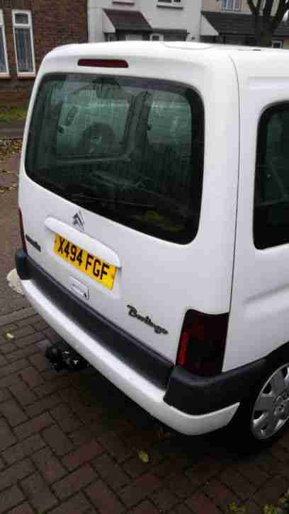 2000 CITROEN BERLINGO MULTISPACE FORTE WHITE
