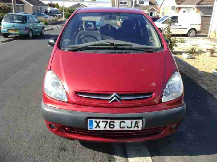 citroen 2000 xsara picasso sx 16v red car for sale. Black Bedroom Furniture Sets. Home Design Ideas