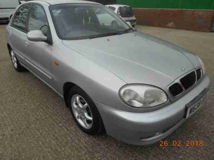 2000 LANOS SX AUTO, 5 DOOR HATCHBACK,