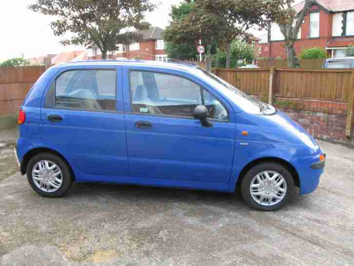 daewoo 2000 matiz se blue car for sale. Black Bedroom Furniture Sets. Home Design Ideas