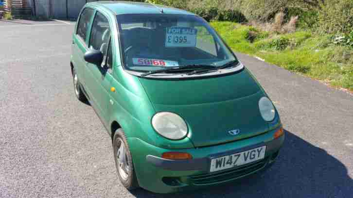 2000 MATIZ SE PLUS GREEN