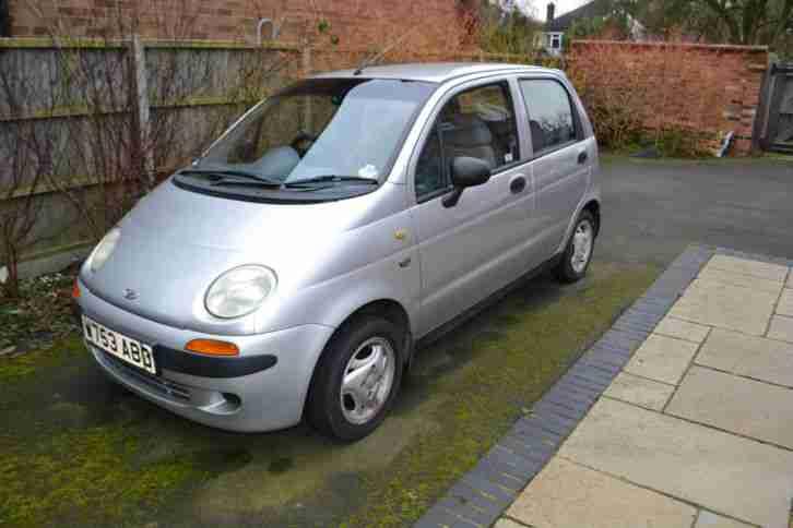 Daewoo 2000 MATIZ SE PLUS SILVER. car for sale