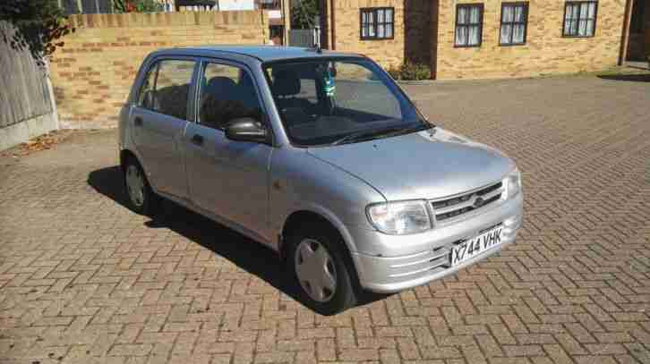 Daihatsu CUORE+. Daihatsu car from United Kingdom