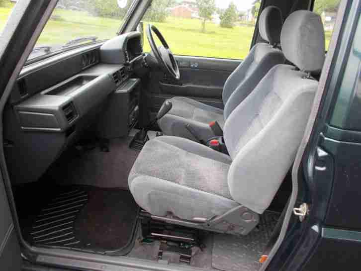 Daihatsu 2000 Fourtrak Independent Tdx Very Low Miles 7