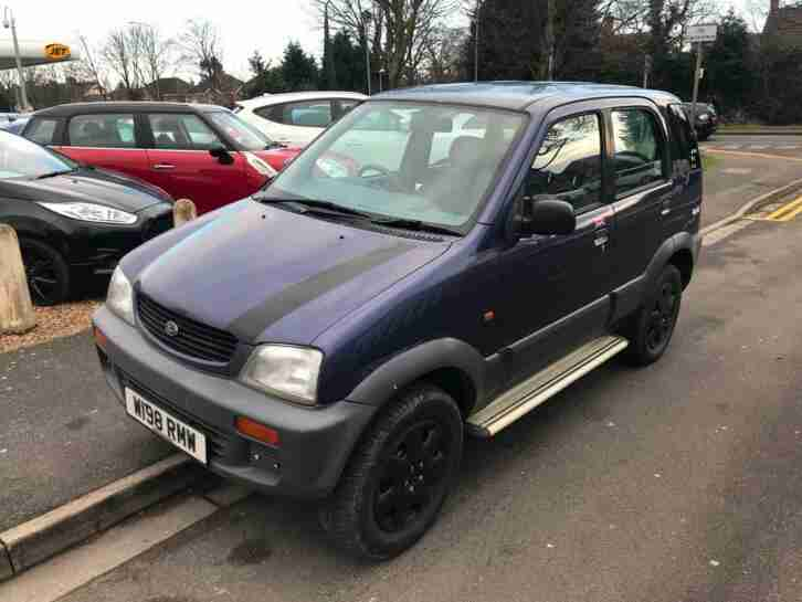 2000 DAIHATSU TERIOS 1.3 5dr PX TO CLEAR