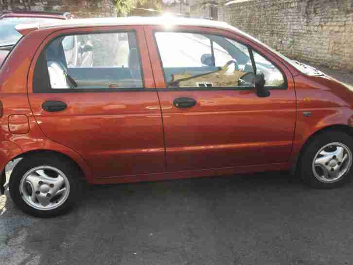 2000 Matiz 0.8 SE+ 5 door hatchback