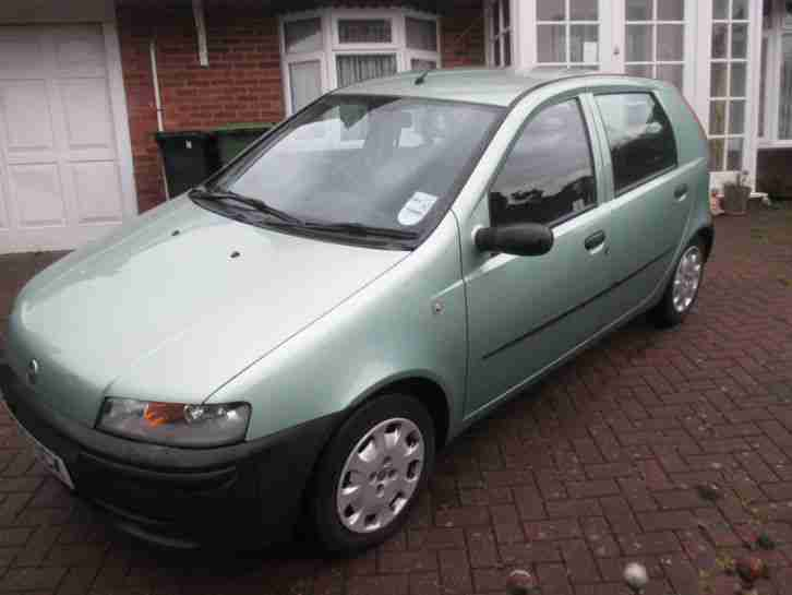 Fiat 2000 Punto 1 2 Green Car For Sale