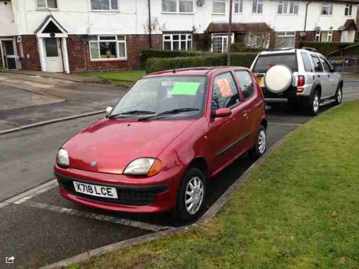 2000 FIAT SEICENTO 899cc LONG MOT HPI CLEAR LOW MILES CHEAP RUN AROUND TAXED !!!