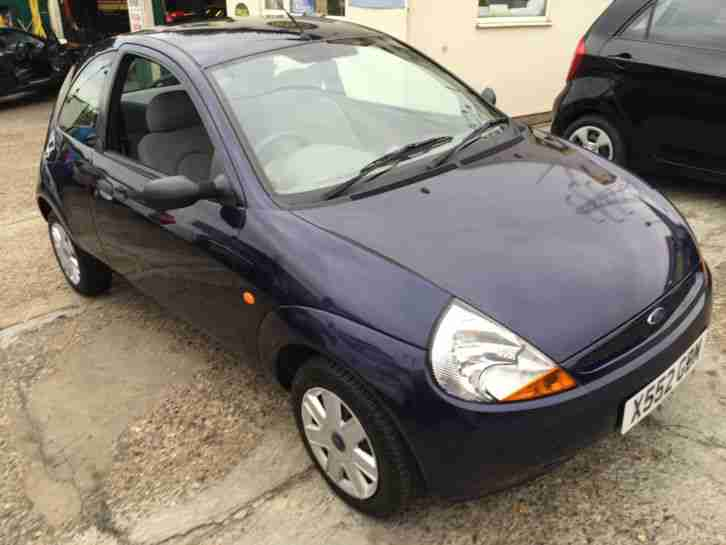 2000 ford ka 2 blue car for sale. Black Bedroom Furniture Sets. Home Design Ideas
