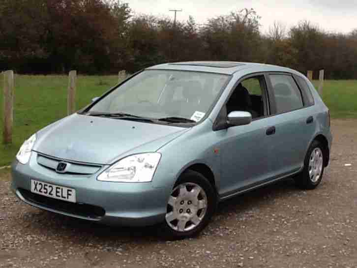 2000 CIVIC 1.6 SE 5 DOOR HATCHBACK
